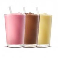 Молочный шейк (клубничный) Фото