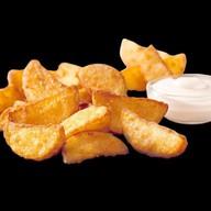 Картофельные дольки с корнишонами Фото