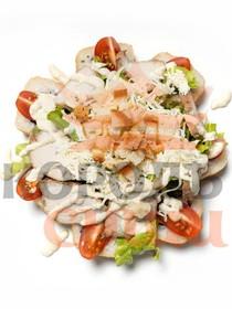 Цезарь темпура с салатом - Фото