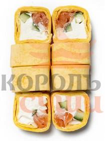 Тортилья с лососем - Фото