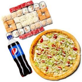 Сет Кемеровский + пицца - Фото