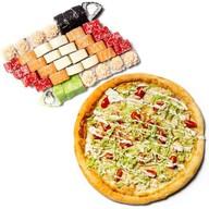 Сет Панда + пицца Фото