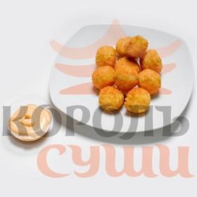 Рисовые шарики с курицей - Фото