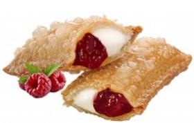Пирожок клубника-малина - Фото