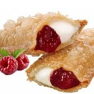 Пирожок клубника-малина Фото