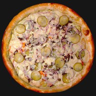 Тар-тар пицца Фото
