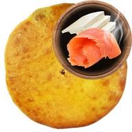 Осетинский пирог с горбушей и сулугуни Фото