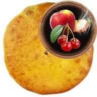 Осетинский пирог с яблоками и вишней Фото