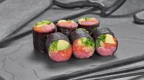 Сашими ролл с тунцом и лососем - Фото