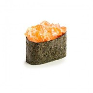 Острый лосось суши Фото