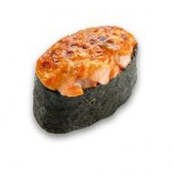 Запеченный лосось суши Фото