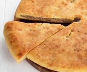 Осетинский пирог картофель со свининой - Фото