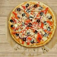 Пицца с лососем Фото