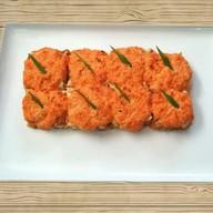 Суши-пицца морская Фото