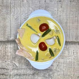 Острый суп карри - Фото