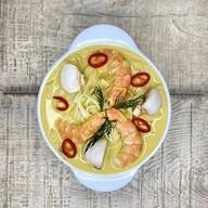 Кокосовый суп карри Фото