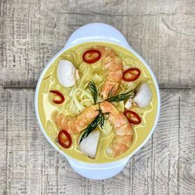 Кокосовый суп карри - Фото