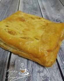 С куриным филе и картофелем (слоеный) - Фото