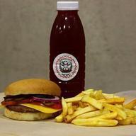 Комбо чизбургер Фото
