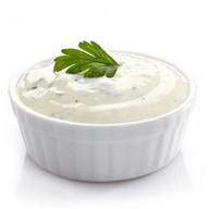 Сливочно-чесночный соус Фото