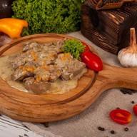Печень куриная в соусе(понд.,вторник,чт) Фото