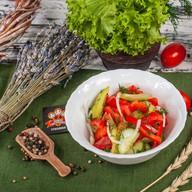 Салат из свежих овощей (пн,вт,ср,чт,пт) Фото