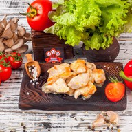 Курица в сливочном соусе(понд., пятница) Фото