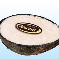 Мороженое в кокосе Фото