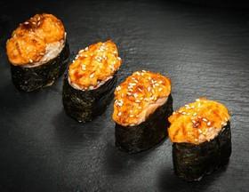 Запеченный суши сет - Фото