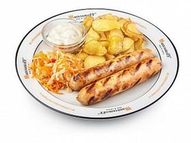 Колбаски чикен-гриль - Фото