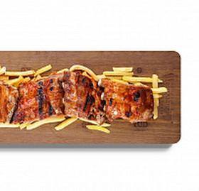 Шашлык метр свиных ребрышек - Фото
