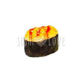 Запеченные суши с лососем - Фото