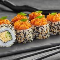 Тартар ролл с лососем Фото
