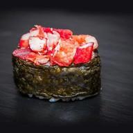 Суши запеченный краб Фото