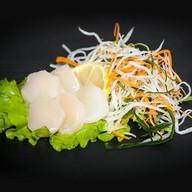 Сашими морской гребешок Фото