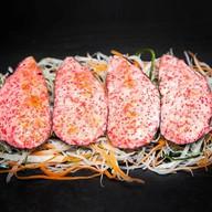 Мидии запеченные с сырным соусом Фото