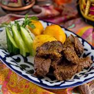 Казан-кебаб из баранины Фото