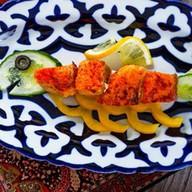 Кебаб из сёмги Рыбка Фото