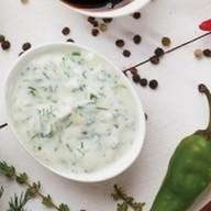 Йогуртовый с зеленью Фото