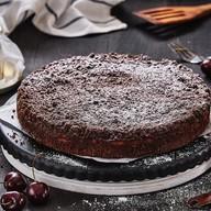Пирог Шоколадный с творогом и вишней Фото