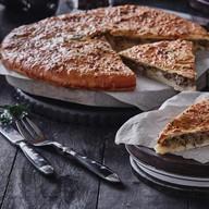 Осетинский с капустой и мясом Фото