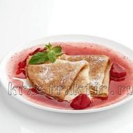 Блины Баловень с вареньем из ягод Фото