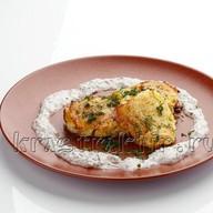 Драники картофельные с сыром и соусом Фото