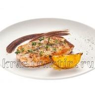 Филе семги в маринаде с горчицей Фото