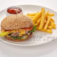 Печьбургер мясной Фото