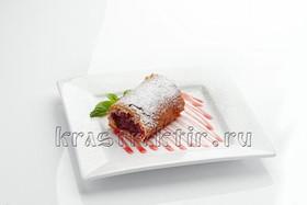 Штрудель вишневый - Фото
