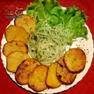 Картошка запеченная на мангале Фото