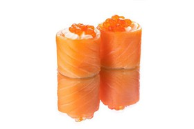 Fish-ka (корзиночки с лососем) - Фото
