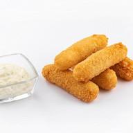 Рисовые палочки с чесночным соусом Фото