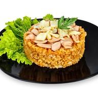 Рис с кальмаром Фото